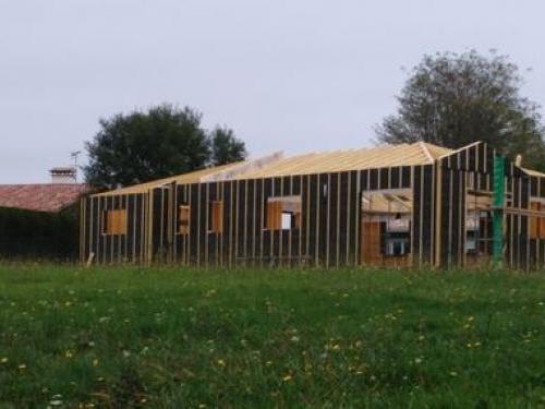 Maison Bois Pontonx