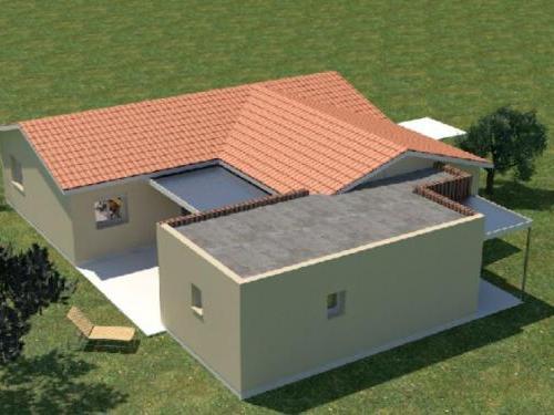 Agrandissement  toit plat