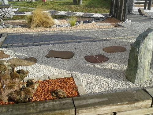 Jardin décoratif Pierre naturelle