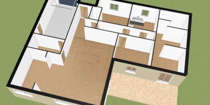 Terrain + maison  Gourbera