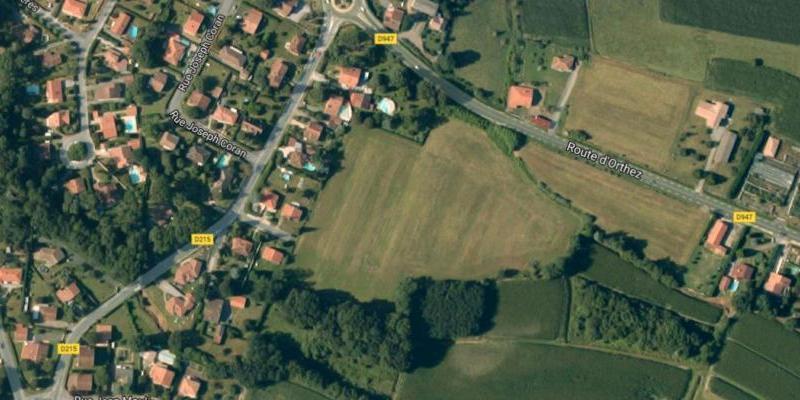 Terrain 700 m2 Saugnac et cambran