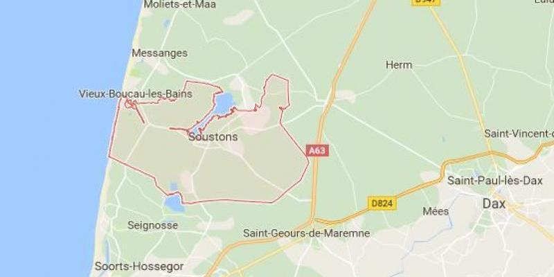 Terrain 699 m2 Soustons